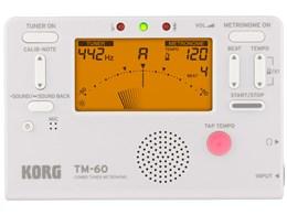 COMBO TUNER METRONOME TM-60 [ホワイト]
