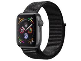 Apple Watch Series 4 GPSモデル 40mm MU672J/A [ブラックスポーツループ]