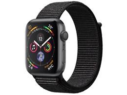 Apple Watch Series 4 GPSモデル 44mm MU6E2J/A [ブラックスポーツループ]