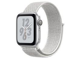 Apple Watch Nike+ Series 4 GPSモデル 40mm MU7F2J/A [サミットホワイトNikeスポーツループ]