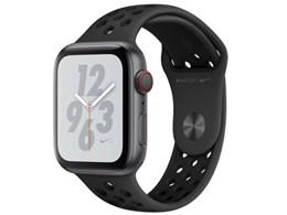 Apple Watch Nike+ Series 4 GPS+Cellularモデル 44mm MTXM2J/A [アンスラサイト/ブラックNikeスポーツバンド]