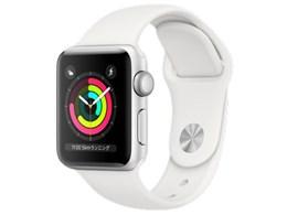 Apple Watch Series 3 GPSモデル 38mm MTEY2J/A [ホワイトスポーツバンド]