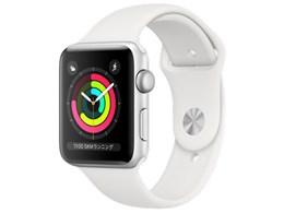 Apple Watch Series 3 GPSモデル 42mm MTF22J/A [ホワイトスポーツバンド]