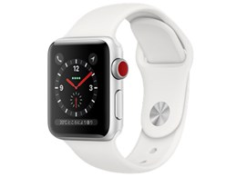 Apple Watch Series 3 GPS+Cellularモデル 38mm MTGN2J/A [ホワイトスポーツバンド]