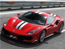 フェラーリ 488Pista
