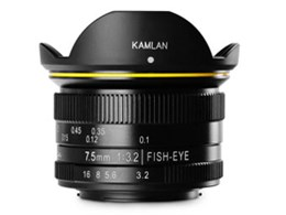 KAMLAN FS 7.5mm F3.2 [マイクロフォーサーズ用]