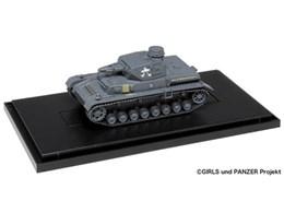 1/72 ガールズ&パンツァー てのひら戦車道コレクション IV号戦車D型 あんこうチーム発見時