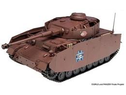 1/35 ガールズ&パンツァー IV号戦車H型 あんこうチーム 最終章パッケージ仕様