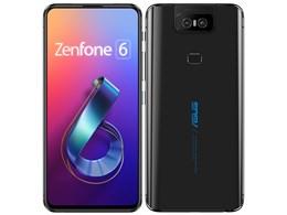 ZenFone 6 128GB SIMフリー [ミッドナイトブラック]