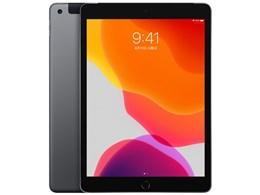 iPad 10.2インチ 第7世代 Wi-Fi+Cellular 128GB 2019年秋モデル MW6E2J/A SIMフリー [スペースグレイ]