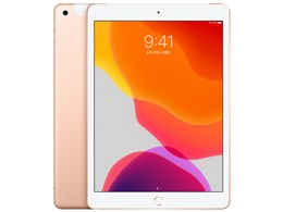 iPad 10.2インチ 第7世代 Wi-Fi+Cellular 128GB 2019年秋モデル MW6G2J/A SIMフリー [ゴールド]