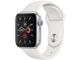 Apple Watch Series 5 GPSモデル 40mm MWV62J/A [ホワイトスポーツバンド]