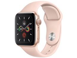 Apple Watch Series 5 GPSモデル 40mm MWV72J/A [ピンクサンドスポーツバンド]