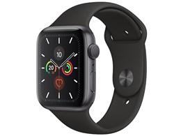 Apple Watch Series 5 GPSモデル 44mm MWVF2J/A [ブラックスポーツバンド]