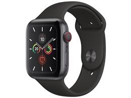 Apple Watch Series 5 GPS+Cellularモデル 44mm MWWE2J/A [ブラックスポーツバンド]