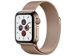 Apple Watch Series 5 GPS+Cellularモデル 40mm MWX72J/A [ゴールドミラネーゼループ]