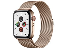 Apple Watch Series 5 GPS+Cellularモデル 44mm MWWJ2J/A [ゴールドミラネーゼループ]