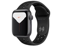 Apple Watch Nike Series 5 GPSモデル 40mm MX3T2J/A [アンスラサイト/ブラックNikeスポーツバンド]