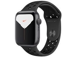 Apple Watch Nike Series 5 GPSモデル 44mm MX3W2J/A [アンスラサイト/ブラックNikeスポーツバンド]