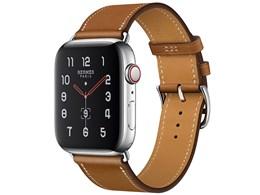 Apple Watch Hermes Series 5 GPS+Cellularモデル 44mm シンプルトゥール MX5C2J/A [ヴォー・バレニア(フォーヴ)レザーストラップ]