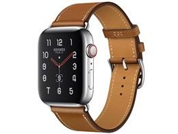 Apple Watch Hermes Series 5 GPS+Cellularモデル 40mm シンプルトゥール MX5M2J/A [ヴォー・バレニア(フォーヴ)レザーストラップ]
