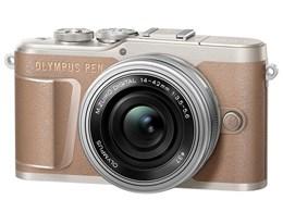 OLYMPUS PEN E-PL10 14-42mm EZレンズキット [ブラウン]