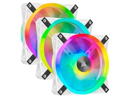 iCUE QL120 RGB Triple Fan Kit with Lighting Node CORE CO-9050104-WW [ホワイト]