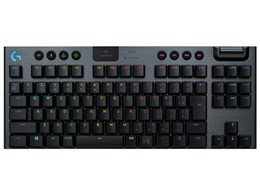 G913 TKL LIGHTSPEED Wireless RGB Mechanical Gaming Keyboard-Linear G913-TKL-LNBK [ブラック]