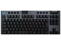 G913 TKL LIGHTSPEED Wireless RGB Mechanical Gaming Keyboard-Clicky G913-TKL-CKBK [ブラック]