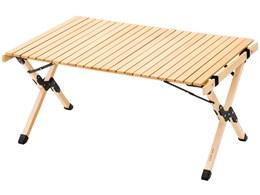 AND・DECO ウッドテーブル 90cm×60cm qmt02 [ナチュラル]