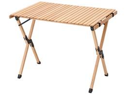 AND・DECO ウッドハイテーブル 90cm×60cm qmt03 [ナチュラル]