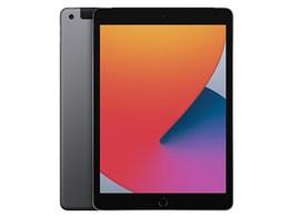 iPad 10.2インチ 第8世代 Wi-Fi+Cellular 128GB 2020年秋モデル au [スペースグレイ]