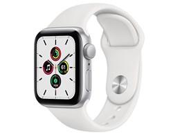 Apple Watch SE GPSモデル 40mm MYDM2J/A [ホワイトスポーツバンド]