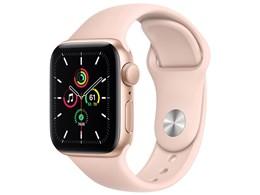 Apple Watch SE GPSモデル 40mm MYDN2J/A [ピンクサンドスポーツバンド]