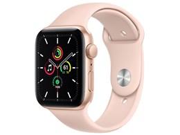 Apple Watch SE GPSモデル 44mm MYDR2J/A [ピンクサンドスポーツバンド]
