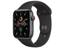 Apple Watch SE GPS+Cellularモデル 44mm MYF02J/A [ブラックスポーツバンド]