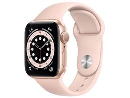 Apple Watch Series 6 GPSモデル 40mm MG123J/A [ピンクサンドスポーツバンド]