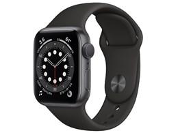 Apple Watch Series 6 GPSモデル 40mm MG133J/A [ブラックスポーツバンド]