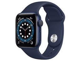 Apple Watch Series 6 GPSモデル 40mm MG143J/A [ディープネイビースポーツバンド]