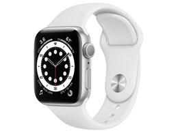 Apple Watch Series 6 GPSモデル 40mm MG283J/A [ホワイトスポーツバンド]