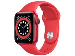 Apple Watch Series 6 GPSモデル 40mm M00A3J/A [(PRODUCT)REDスポーツバンド]