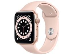 Apple Watch Series 6 GPSモデル 44mm M00E3J/A [ピンクサンドスポーツバンド]