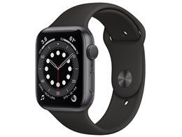 Apple Watch Series 6 GPSモデル 44mm M00H3J/A [ブラックスポーツバンド]