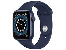Apple Watch Series 6 GPSモデル 44mm M00J3J/A [ディープネイビースポーツバンド]