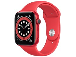 Apple Watch Series 6 GPSモデル 44mm M00M3J/A [(PRODUCT)REDスポーツバンド]