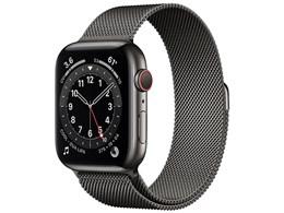 Apple Watch Series 6 GPS+Cellularモデル 44mm M09J3J/A [グラファイトミラネーゼループ]