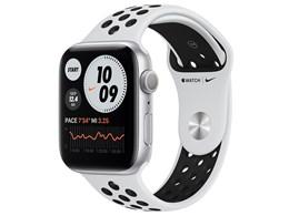 Apple Watch Nike Series 6 GPSモデル 44mm MG293J/A [ピュアプラチナム/ブラックNikeスポーツバンド]
