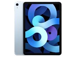 iPad Air 10.9インチ 第4世代 Wi-Fi+Cellular 256GB 2020年秋モデル MYH62J/A SIMフリー [スカイブルー]