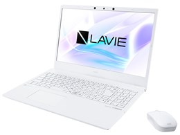 LAVIE N15 N1575/BAW PC-N1575BAW [パールホワイト]