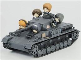 ガールズ&パンツァー 1/35 IV号戦車F2型 D型改 あんこうチーム プチあんこうチーム付き特別限定版です!